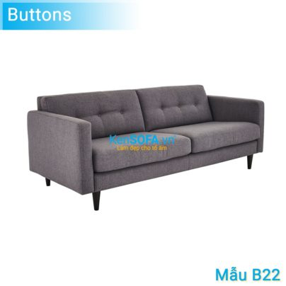 Sofa băng B22 Buttons