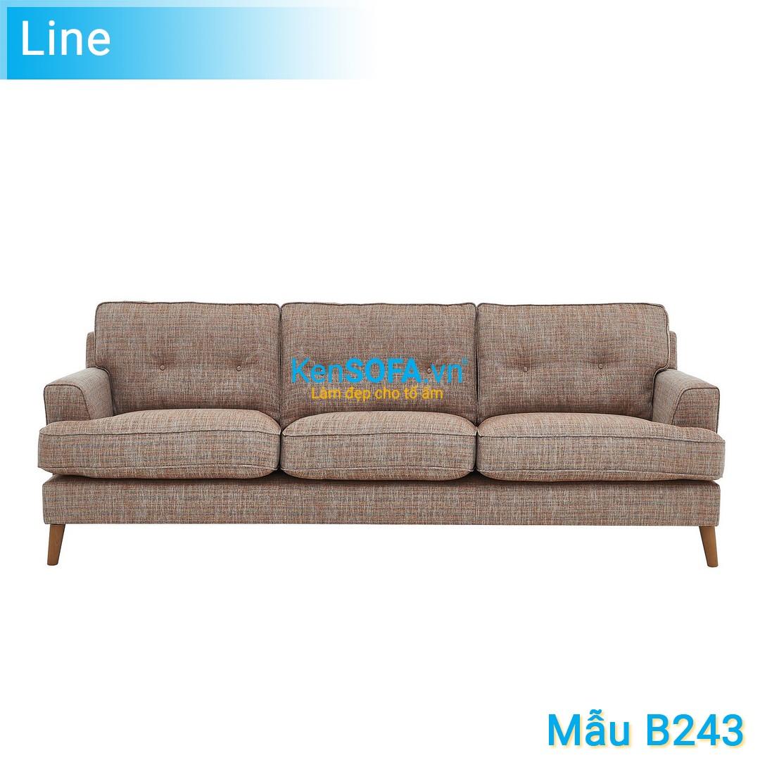 Sofa băng B243 Line 3 chỗ
