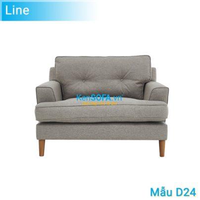 Sofa đơn D24 Line