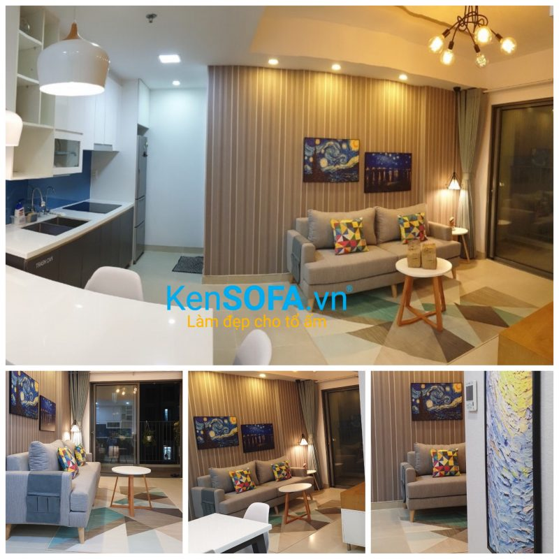 Sofa mini cho phòng khách KenSOFA