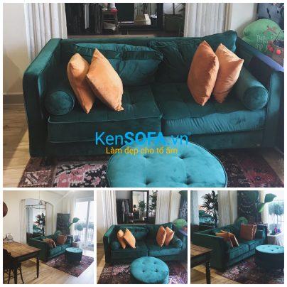 Sofa vải sang trọng