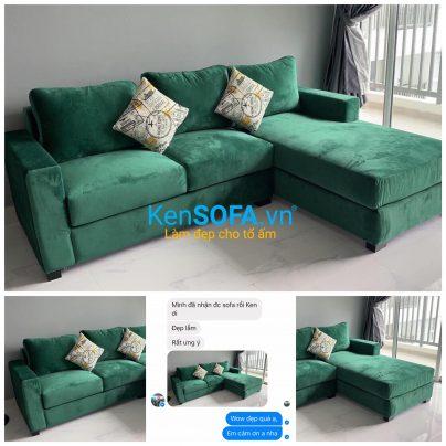 Chọn màu ghế sofa cho người mệnh Mộc