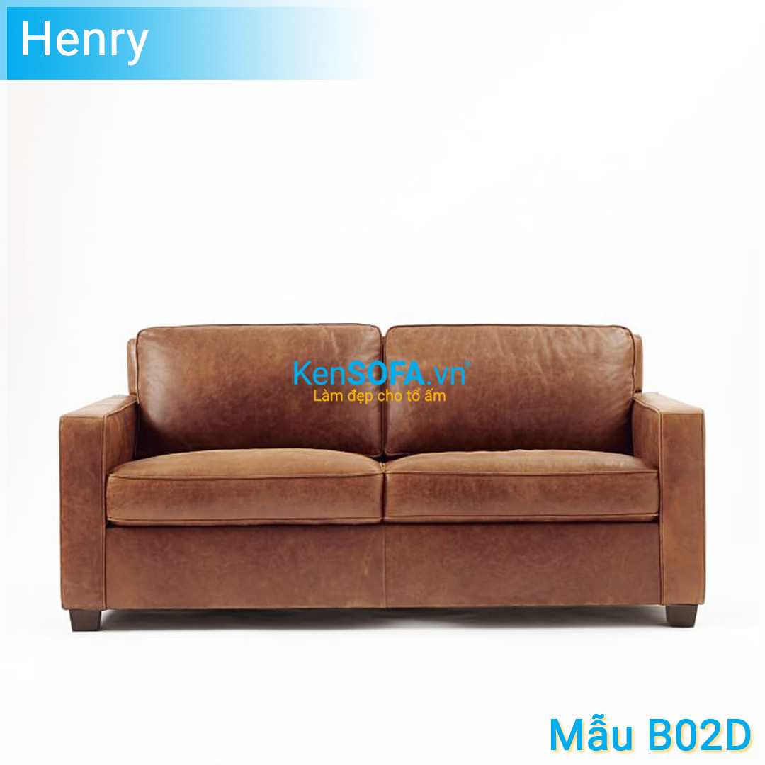Sofa băng B02D Henry da