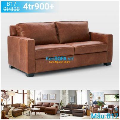 Ghế sofa băng B17