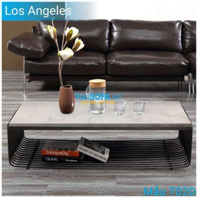Bàn sofa T02D Los Angeles mặt đá