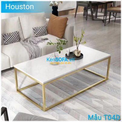 Bàn sofa T04D Houston mặt đá