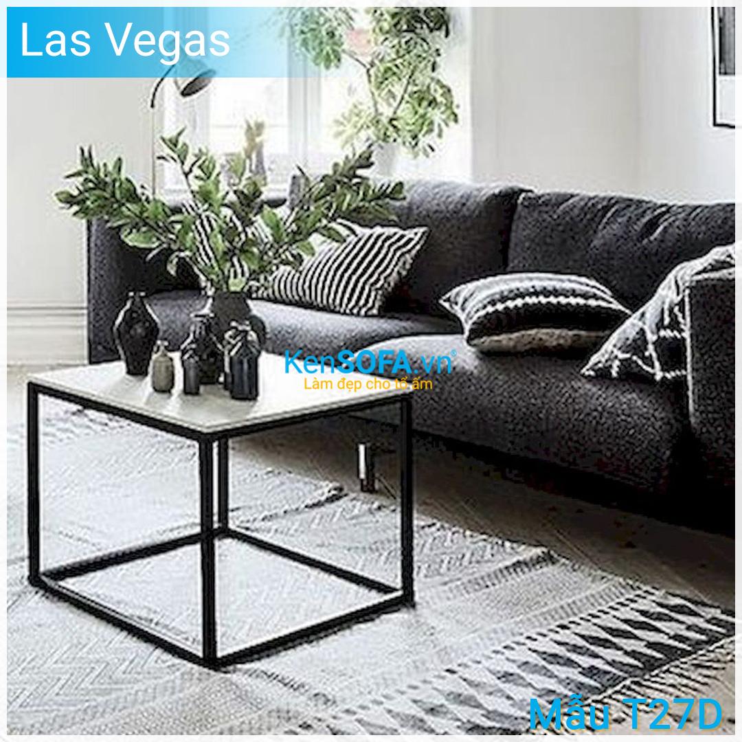 Bàn sofa T27D Las Vegas mặt đá