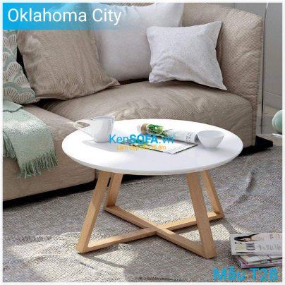 Bàn sofa T28 Oklahoma City mặt gỗ