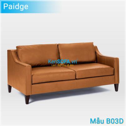 Sofa băng B03D Paige da