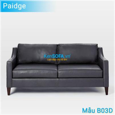 Sofa băng B03D Paidge da