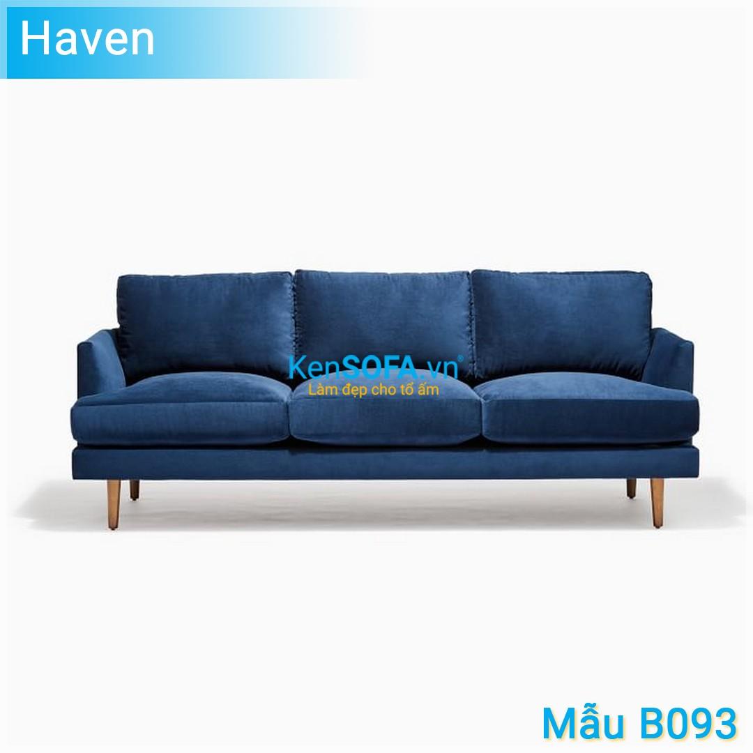 Sofa băng B093 Haven 3 chỗ