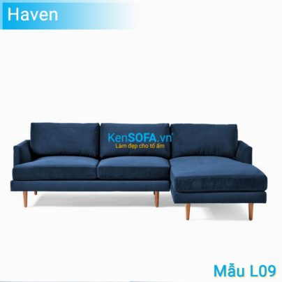 Sofa góc L09 Haven