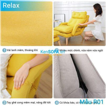 Sofa thư giãn R01 Relax ghế lười
