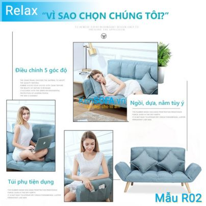 Sofa thư giãn R02 ghế giường