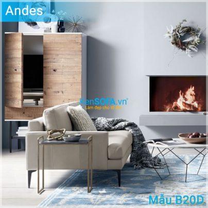 Sofa băng B20D Andes da
