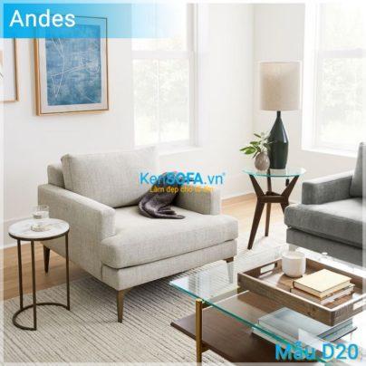 Sofa đơn D20 Andes