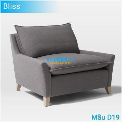 Sofa đơn D19 Bliss