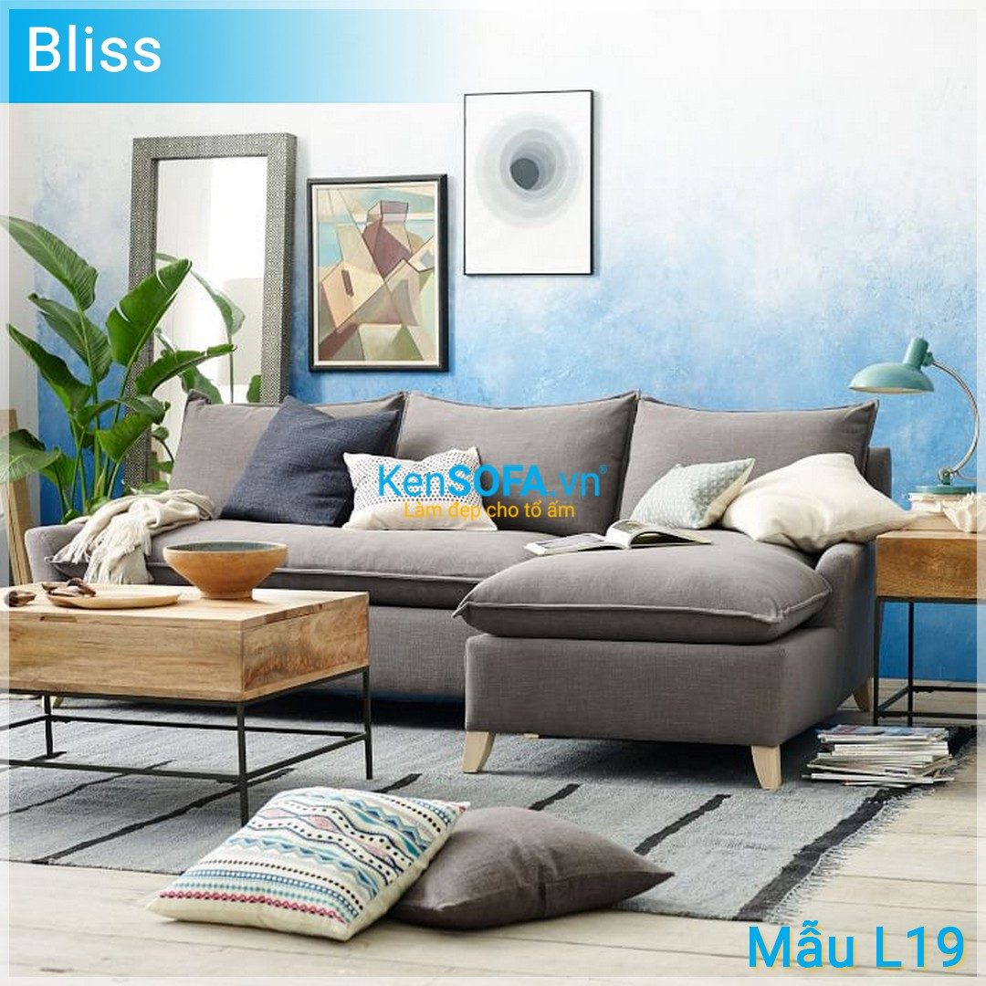 Sofa góc L19 Bliss