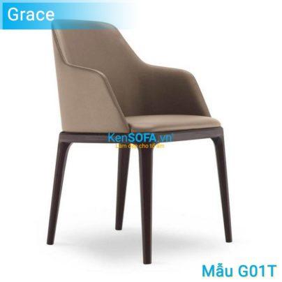 Ghế ăn G01T Grace có tay