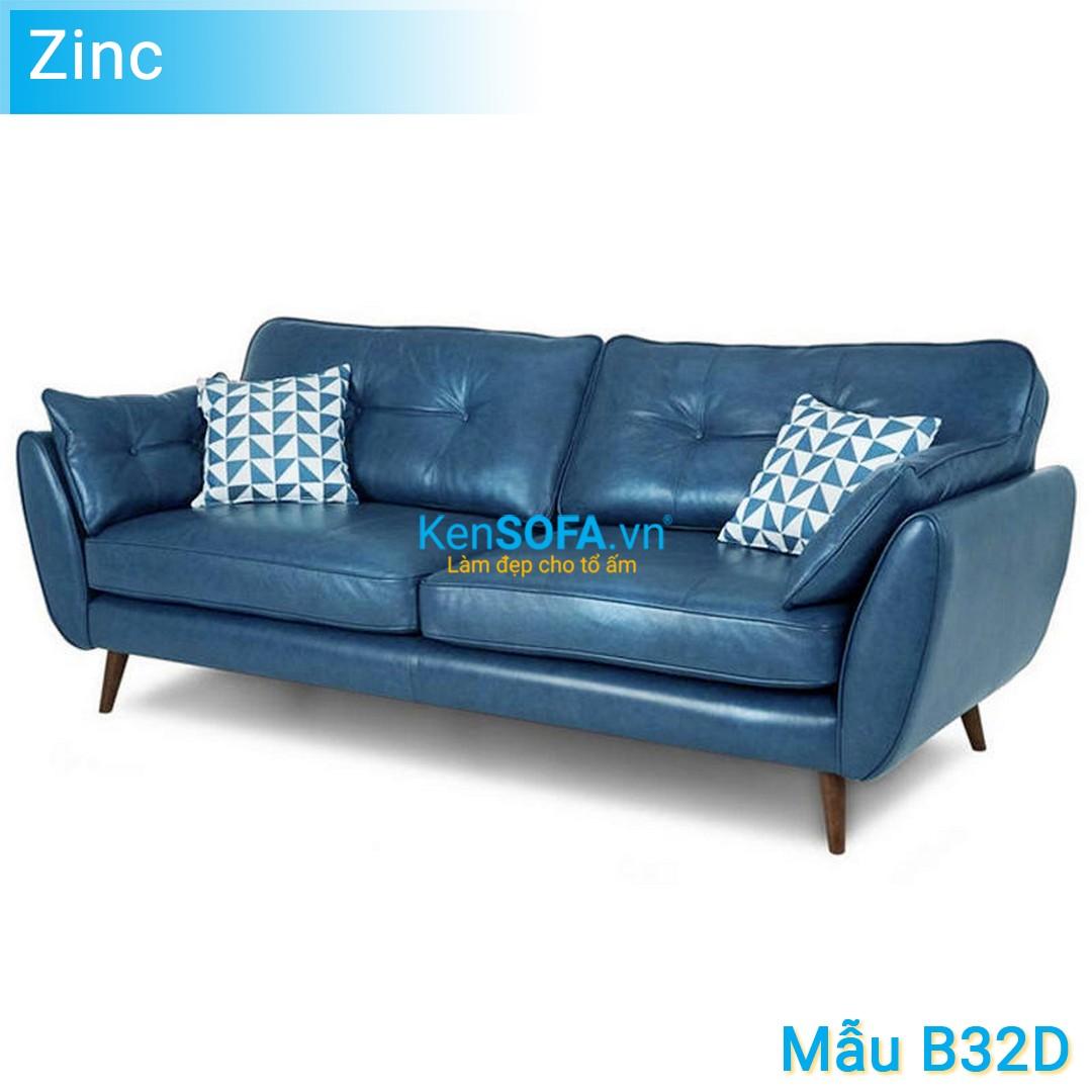 Sofa băng B32D Zinc da