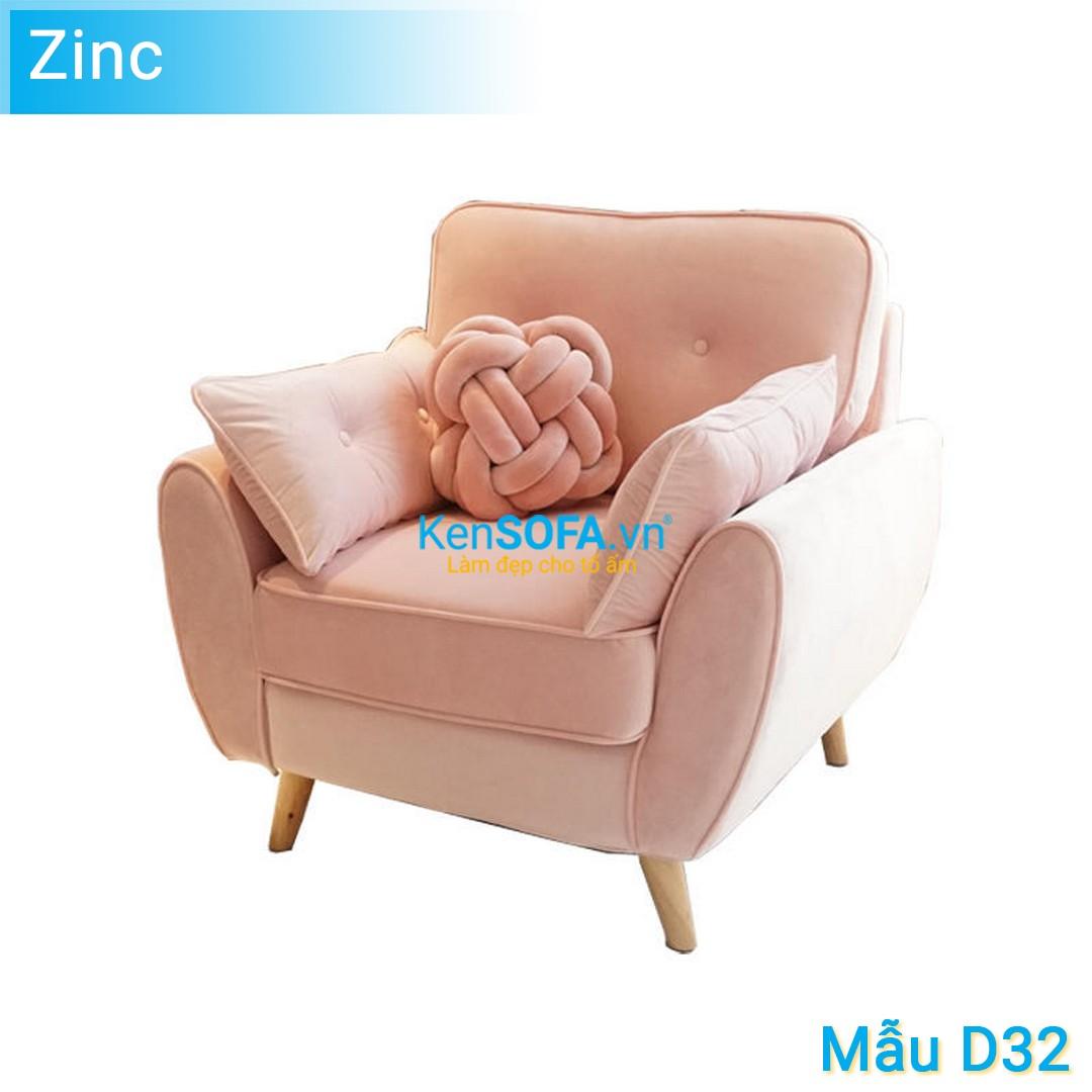Sofa đơn D32 Zinc