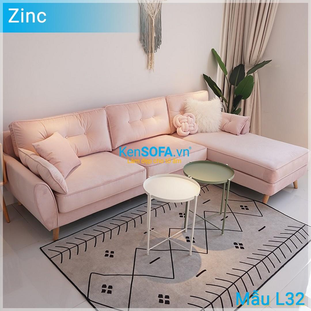 Sofa góc L32 Zinc
