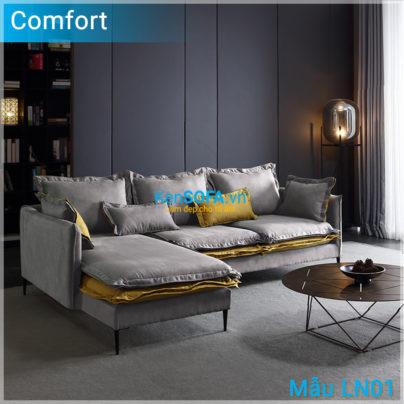 Sofa góc lông vũ cao cấp LN01 Comfort