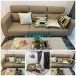 Sofa băng cao cấp BCC01 da Hàn Quốc nhập khẩu